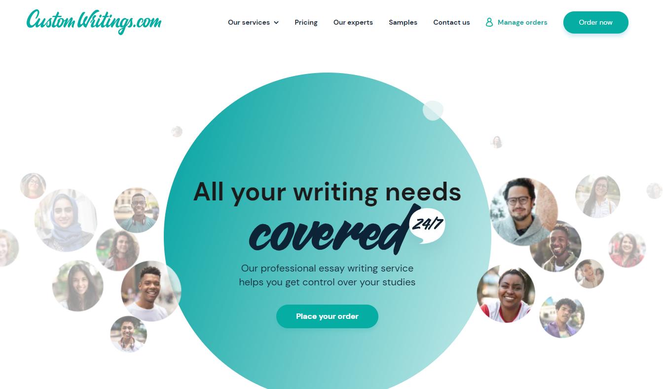 customwritings com homepage