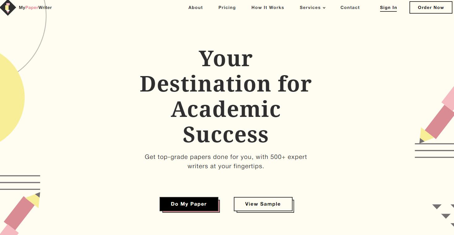 mypaperwriter com homepage