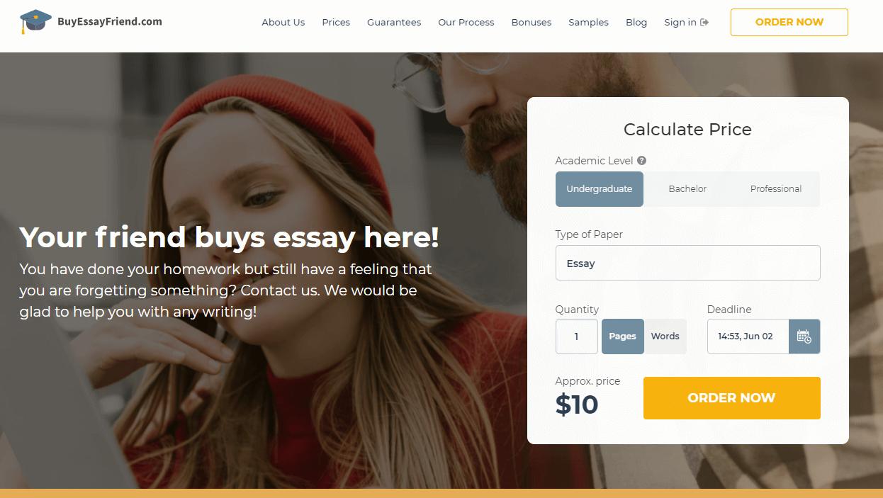 BuyEssayFriend review